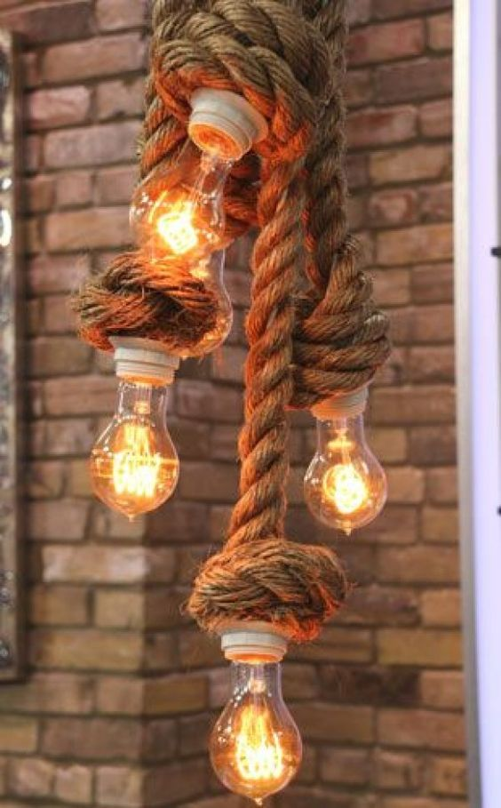 Decor rope decor and ideas on pinterest for Rope designs and more
