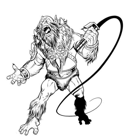 Beast-Man - MOTU - Adam Huntley