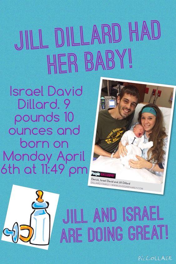Jill Duggar Dillard and Derick Dillard are parents!