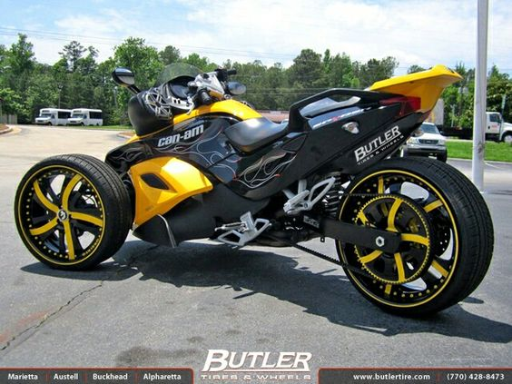 Custom Can Am Spyder http://www.route3amotorsports.com/index.htm https://www.facebook.com/pages/ROUTE-3A-MOTORS-INC/290210343793?ref=hl OPEN 7 DAYS A WEEK 978-251-4440   www.mm-powersports.com added this pin to our collection