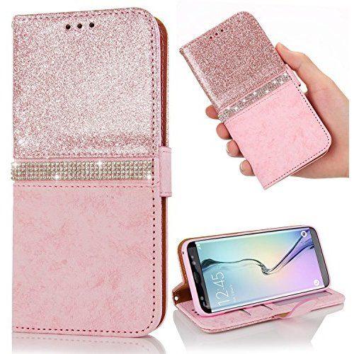 Coque pour Samsung Galaxy J3 2016, LAPOPNUT Luxe Bling Glitter ...