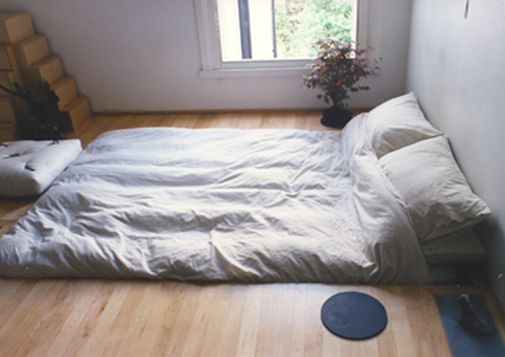 Entirely Sunken Bed With Hidden Storage And Invisible Heating The