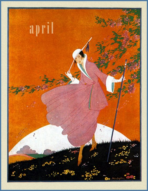 Art Calendar Magazine : Vintage vogue ⍌ art and illustration for magazine