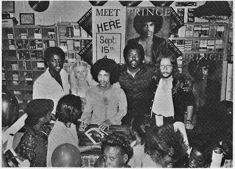 PRINCE at record store signing 1979 #prince #princestagram #ripprince