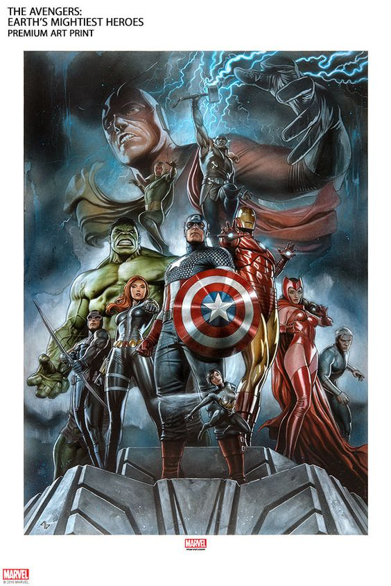 The Avengers Earth S Mightiest Heroes By Sideshow Collectibles