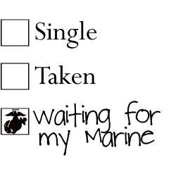 Waiting for My Marine