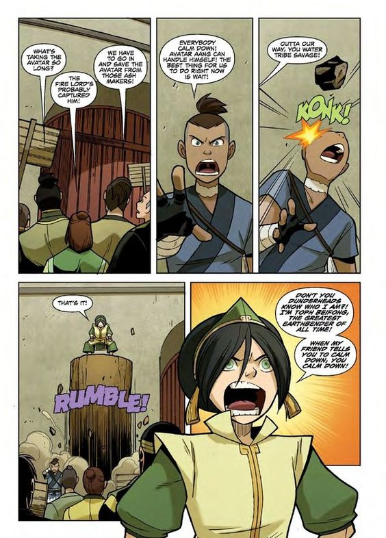 Toph. 12 years old and still cooler than you. | The Last Airbender | Avatar