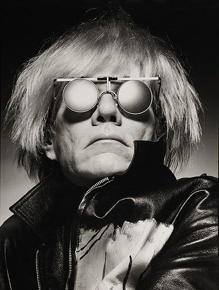 Andy Warhol photographed by Albert Watson. Source http://www.dandy-club.com