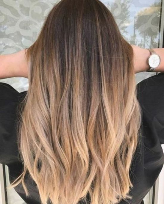Ombre Straight Hair Brown Ombre Hair Blonde Ombre Hair Dark Hair Balayage Hair Ombrehairstraight In 2020 Ombre Hair Blonde Brown Hair Balayage Balayage Hair