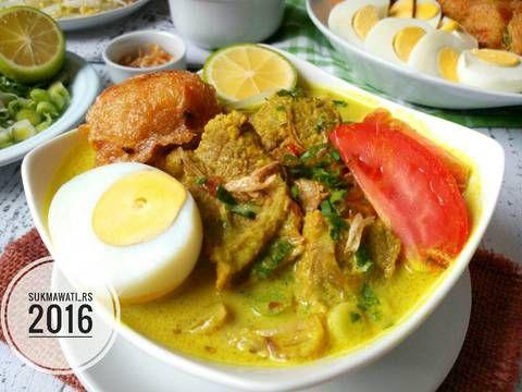 Resep Soto Medan Daging Sapi Oleh Sukmawati Rs Resep Daging Sapi Makanan Dan Minuman Resep