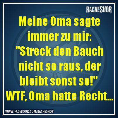 Oma weiß es. #Spruch #Witz #fun #geklautbeiracheshop #Racheshop