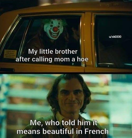 It Means Gardening Tool In English Joker Meme Stupid Memes Really Funny