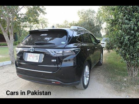 Toyota Harrier Comsats Lahore Auto Show Muneeb Akram Toyota Harrier Toyota Highlander Toyota