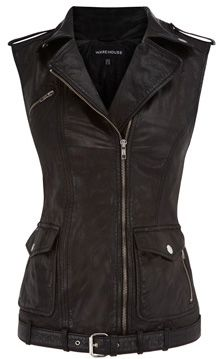 LE CATCH: the leather vest