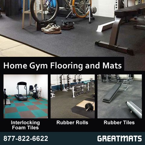 Greatmats Offers Many Types Of Home Gym Mats And Flooring
