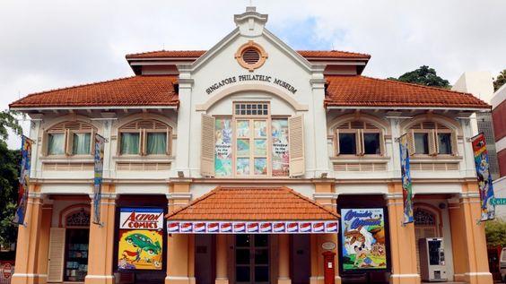 Bảo tàng Tem Singapore - nằm trong Top 10 bảo tàng hàng đầu Singapore