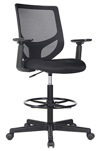 130 Smugdesk Drafting Chair Tall Office Chair For Standing De
