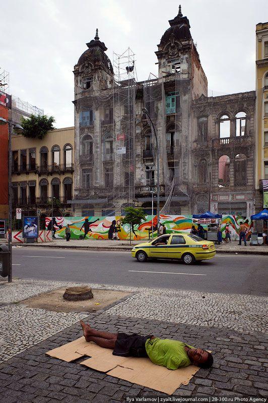 A realidade na Lapa, Rio de Janeiro