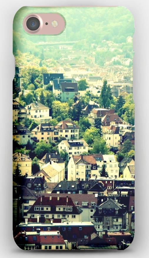 iPhone 7 Case Berlin, Germany, Houses, Trees, Top view