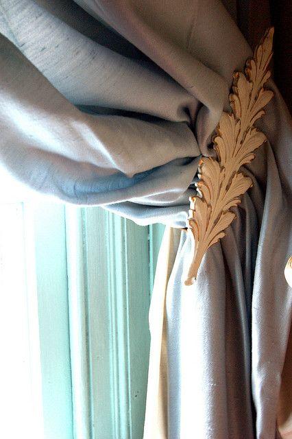 10 alzapaños para las cortinas
