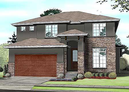 Plan 62570dj Family Friendly Prairie Style House Plan