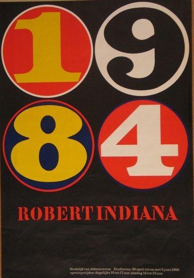1984 Robert Indiana Stedelijk van Abbemuseum Eindhoven - Stedelijk Museum Amsterdam 400 x 574