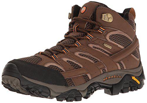 merrell moab mid gtx mens walking boots usa