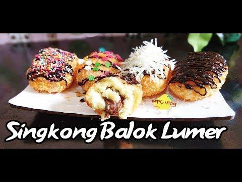 Gorengan Kekinian Singkong Balok Coklat Lumer Viral Youtube Cooking Recipes Food Recipies Cooking