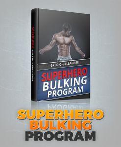 Kinobody Fitness Super Hero Bulking Program