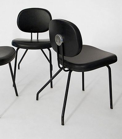 Ico Parisi; Side Chairs for MIM, 1960s.