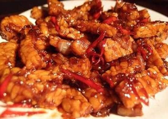 Resep Steak Tempe Saus Spesial Pedas Resep Tempe Resep Resep Masakan Indonesia Masakan Indonesia Resep
