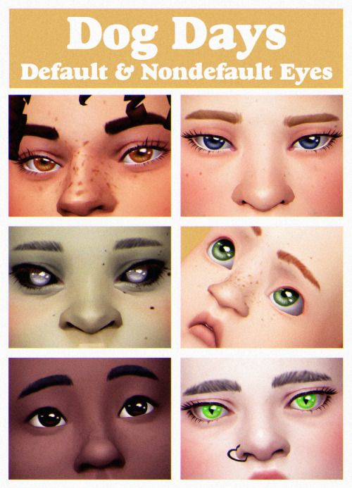 Sims 4 mods anime eyes download
