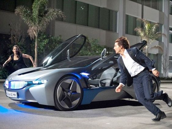 bmw i8 mission impossible ghost protocol the efficient