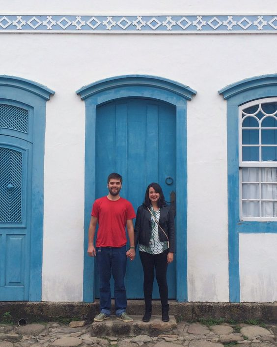 Holding hands in Paraty, RJ/Brazil