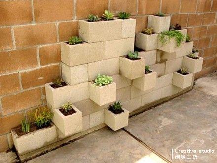 植物模块盆景墙,装点出绿意清新的自然。