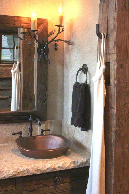 lavabos de cobre
