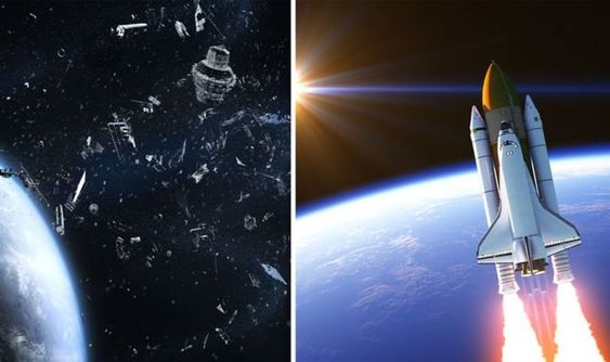 Space junk could 'TRAP' humans on Earth and put space travel missions in jeopardy | Science | News | Express.co.uk