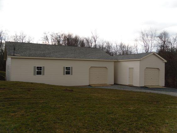 Garage on pinterest for 28x30 garage plans