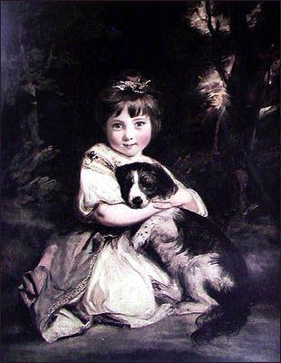 Love me, Love my dog  Joshua Reynolds (1723-1792)