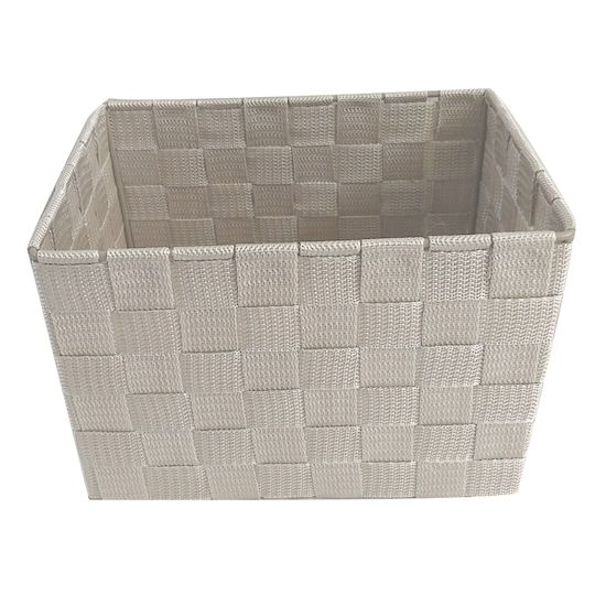 Small Khaki Rectangle Storage Basket By Ashland In 2020