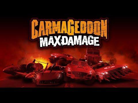 Ps4 Carmageddon Max Damage Game Play