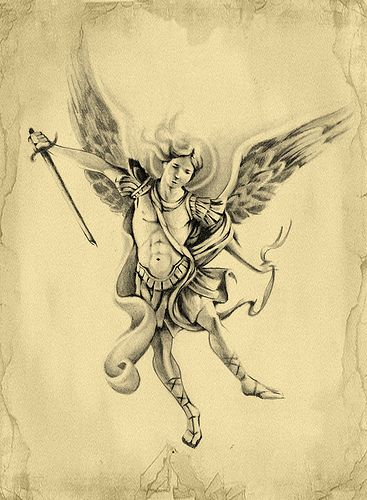 archangel michael | Archangel Michael Tattoo Design ...