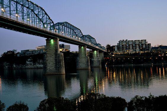 Walnut Street Bridge, Chattanooga, TN