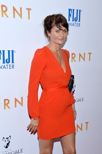 Helena Christensen Photos - 'Burnt' New York Premiere - Zimbio: