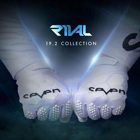 Seven Mx Rival White Gloves Motocross Gloves Seventh White Gloves