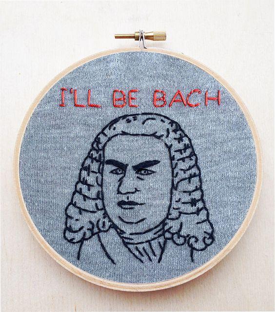 Johann sebastian bach classical music composer hand