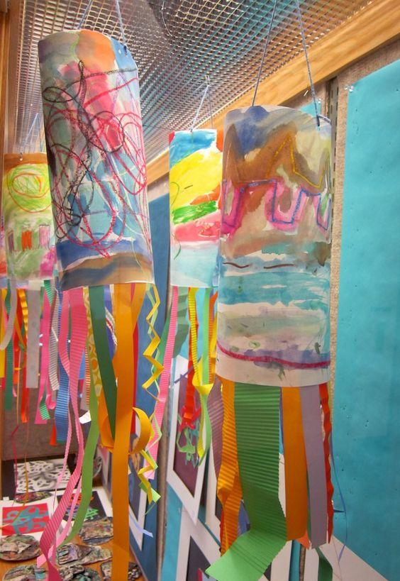 Kindergarten Line Art Project