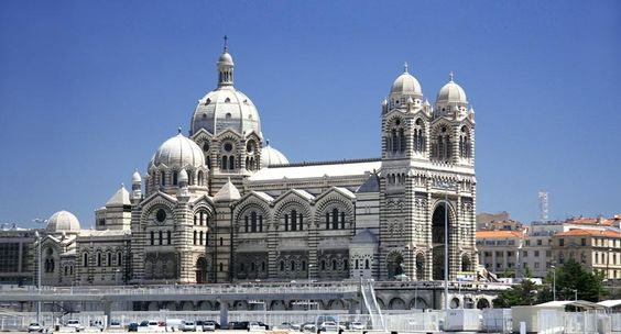 la cathedrale notre-dame de la major,   ... oder direkt zu die metropole notre dame de la garde cathédrale de