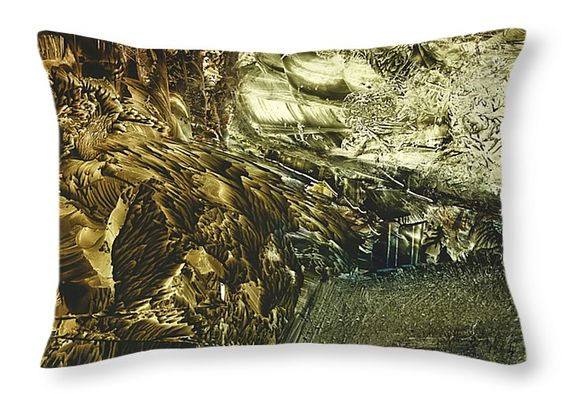 """Land of Discoveries Throw Pillow 20"""" x 14"""" by Nikolay Malafeev"""