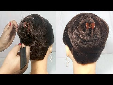 Latest Juda Hairstyle Using Clutcher Simple Hairstyles